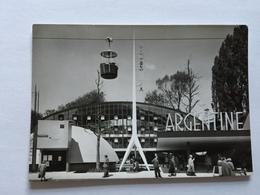 19A - Expo Universelle Bruxelles 1958 Epicarte Pavillon Argentine Argentina - Expositions