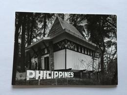 19A - Expo Universelle Bruxelles 1958 Epicarte Pavillon Philippines - Expositions