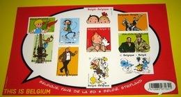 Blok 201 ND Bloc Tintin En Belgique, Pays De La BD** Kuifje In België, Stripland Met 4258/67** This Is Belgium XX - Belgique