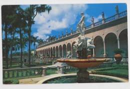 AI45 Ringling Museum Of Art, Sarasota, Florida, Italian Garden Court - Sarasota