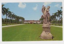 AI45 The Plaza, Ringling Museum Of Art Showing Statue Of Neptune, Sarasota, Florida - Sarasota