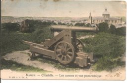 L120B_625 - Namur - Citadelle - Les Canons Et Vue Panoramique - Namur