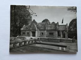 19A - Expo Universelle Bruxelles 1958 Epicarte Pavillon Cambodge Cambodja - Expositions
