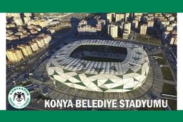CP.STADE DE FOOTBALL.KONYA TURQUIE  BELEDIYE STADYUME  #  CS. 755 - Voetbal