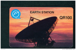 QATAR - Magnetic Phonecard As Scan (Caravan Restaurants Reverse) - Qatar