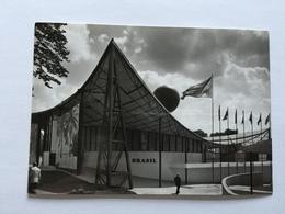 19A - Expo Universelle Bruxelles 1958 Epicarte Pavillon Brésil Brazil - Expositions