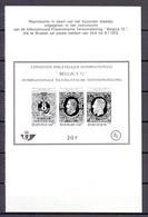 ZNP 3nl BELGICA 72 ZWART WIT VELLETJE (nl) - Black-and-white Panes