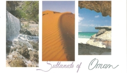 OM - Sultanate Of Oman : Geographical Contrast [EXPO '92 Sevilla / Séville] - Oman