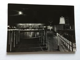 19A - Expo Universelle Bruxelles 1958 Epicarte Pavillon USA Et Saint Siège La Nuit - Expositions
