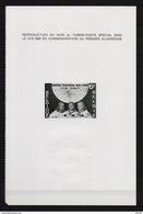 ZNP 2 MAANLANDING  ZWART WIT VELLETJE 1970 (fr) - Black-and-white Panes