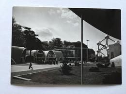 19A - Expo Universelle Bruxelles 1958 Epicarte Avenue De L'Atomium Et Pavillons Couture - Expositions