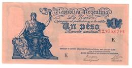 Argentina 1 Peso 1935 XF/AUNC .J. - Argentina