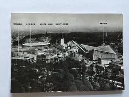 19A - Expo Universelle Bruxelles 1958 Epicarte La Section étrangère Et Les Quatres Grands - Expositions