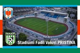 CP.STADE DE FOOTBALL.  Pristina    Stadiumi Fadil Vorkrri #  CS. 752 - Voetbal