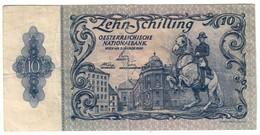 Austria 10 Shillings 02/01/1950 2 Auflage .J. - Austria