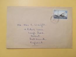 1982 BUSTA ISOLE FALKLAND BOLLO MAIL SHIP NAVI ANNULLO PORT STANLEY STORIA POSTALE - Falkland