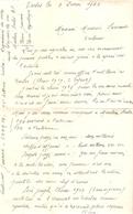 """Intervention De Maurice Sarraut, Dir. De """"La Dépêche """", Pour Jean Jancenne à Mauléon-Soule, 1940, Espadrilles - Autografi"""
