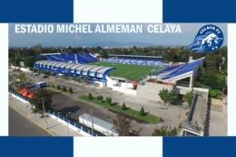 CP.STADE DE FOOTBALL.  CELAYA  MEXIQUE  ESTADIO MICHEL ALEMAN #  CS. 748 - Voetbal