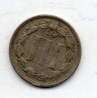 USA : 3 Cts 1875 - Émissions Fédérales