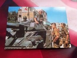 CARTOLINA CARABINIERI  DELLA FORZA MULTINAZIONALE DI PACE IN LIBANO- NUOVA NON VIAGGIATA - Material
