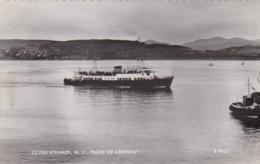 AN23 Shipping Postcard - Clyde Steamer, M.V. Madi Of Ashton - RPPC - Ferries