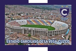CP.STADE DE FOOTBALL. CUZCO   PEROU  ESTADIO GARCILASO  DE LA VEGA  #  CS. 744 - Voetbal