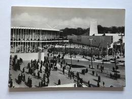 19A - Expo Universelle Bruxelles 1958 Epicarte Rond Point Des Nations Avec Saint Siège Et USA - Expositions