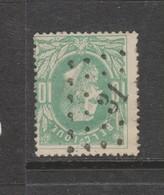 COB 30 Oblitération à Points 31 BASTOGNE +10 - 1869-1883 Léopold II