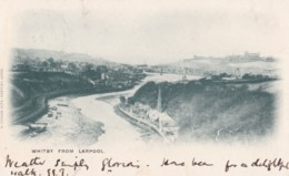 AO80 Whitby From Larpool - Undivided Back, Vignette Postcard - Whitby