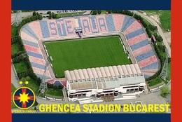 CP.STADE DE FOOTBALL. BUCAREST  ROUMANIE  GHENCEA  STADION  #  CS. 742 - Voetbal