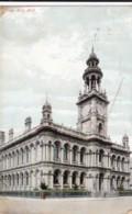 AO80 Town Hall, Hull - 1906 Postcard - Hull