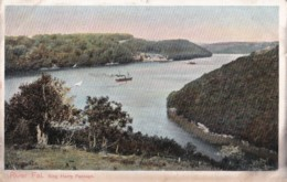 AO80 River Fal, King Harry Passage - 1907 Postcard - Other