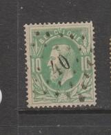 COB 30 Oblitération à Points 40 BILSEN +12 - 1869-1883 Leopold II.