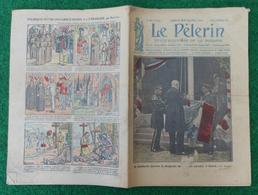 Revue Illustrée Le Pèlerin - Décembre 1922 - Décoration Du Drapeau De L'École Navale à Brest Par M. Flaminius Raiberti - Journaux - Quotidiens