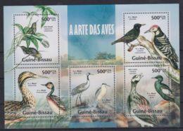 G257. Guinea-Bissau - MNH - 2013 - Nature - Animals - Birds - Altri