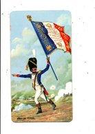 CHROMOS LESSIVE PERSIL - PORTE-DRAPEAU DE NAPOLEON - 1 ER CHASSEUR A PIED DE LA GARDE 1813 - Trade Cards