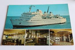 C/f Agadir - Tanger-sete-tanger - Compagnie Marocaine De Navigation -comonav Ferry - 1979 - Ferries
