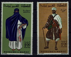 Marokko Morocco 1968 - Trachten  Folk Costume - MiNr 597-598 - Kostüme