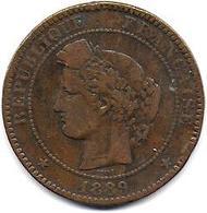 France - 10 C Cérès  1889A - France