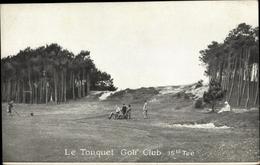 Cp Le Touquet Paris Plage Pas De Calais, Golf Club, 15th Tee - France