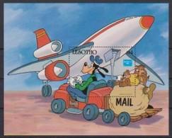 2539  Walt Disney   Lesotho  ( Ameripex 86 )   . - Guyane (1966-...)