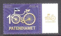 100th Anniversary Of Patent Office Estonia 2019 MNH Stamp  Mi 958 - Organisations