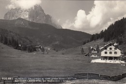 SELVA GARDENA-BOLZANO-ALBERGO=VALLELUNGA=-CARTOLINA VERA FOTOGRAFIA VIAGGIATA IL 15-7-1957 - Bolzano