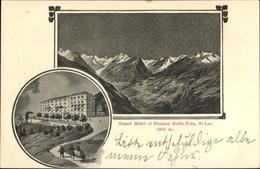 Cp St. Luc Kanton Wallis, Grand Hotel, Pension Bella Tola - VS Wallis
