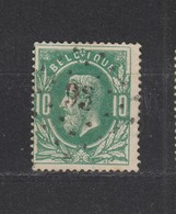 COB 30 Oblitération à Points 93 DENDERLEEUW +15 - 1869-1883 Léopold II