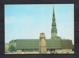 38-396/ LATVIA - USSR  - RIGA   MEMORIAL  MUSEUM 1984 - Lettonie