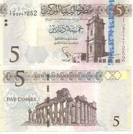 Libya  P-81   5 Dinars  2002  UNC - Libye