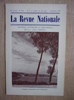 Revue Nationale Décembre 1960 - +/- 40 Pages - Campagne Brabançonne, Près De PLANCENOIS - Culture