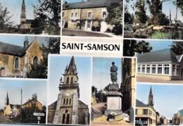 56 - SAINT SAMSON ( ROHAN ) Jolie CPSM Village (1.650 Habitants) Dentelée Colorisée Grand Format - Morbihan - France