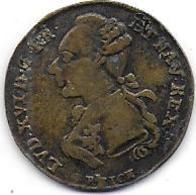 France - Jeton De LOUIS XVI - Royal / Of Nobility